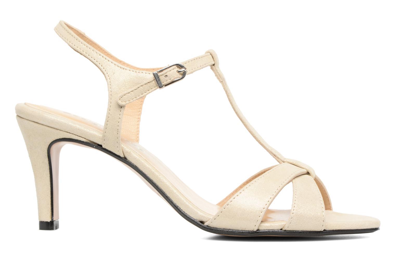 Sandales et nu-pieds Georgia Rose Satine Beige vue derrière