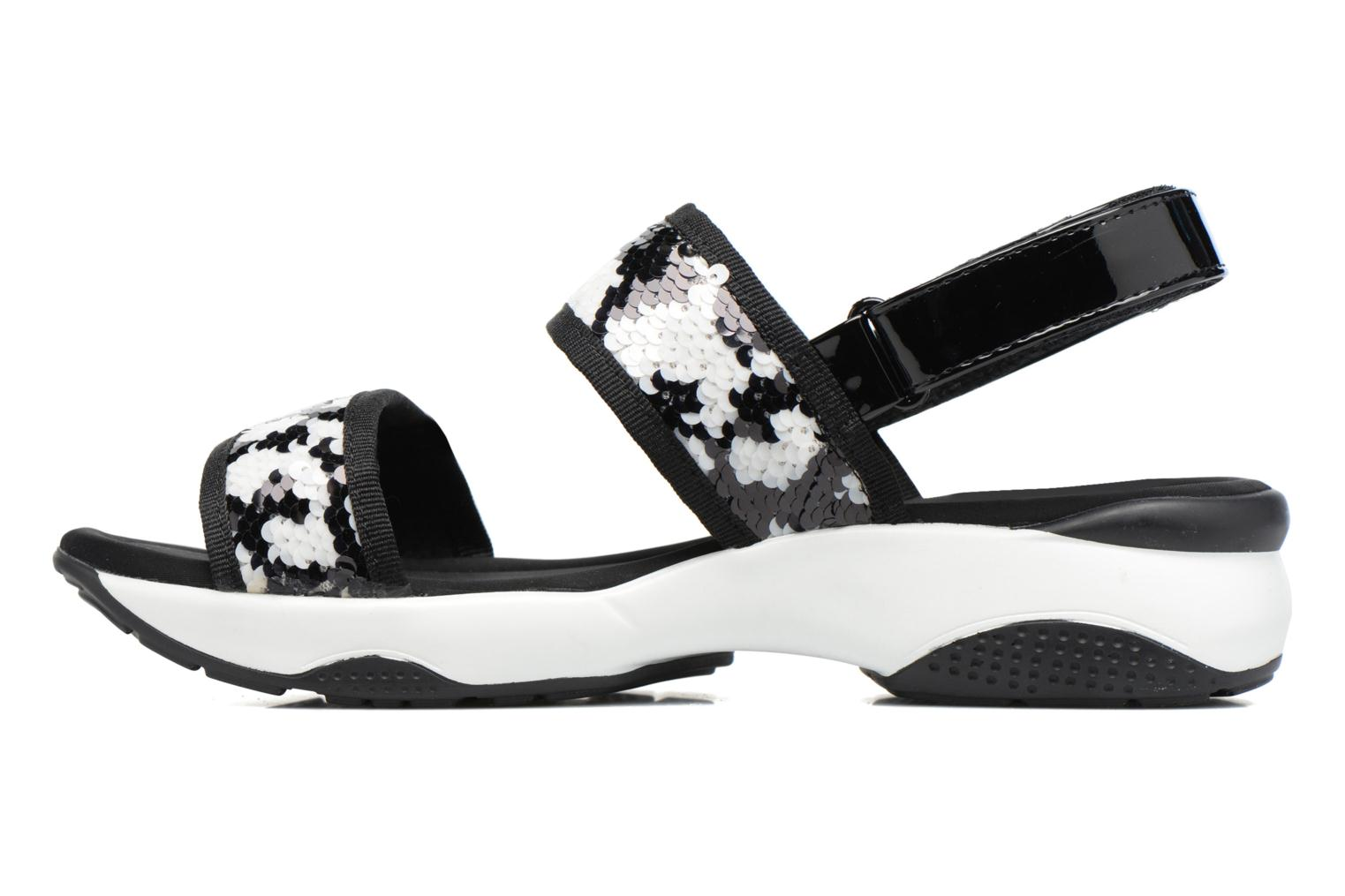 Sandals Sixty Seven Ahis 78785 Black front view