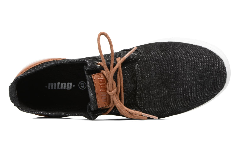 Baskets MTNG Bambu 84553 Noir vue gauche