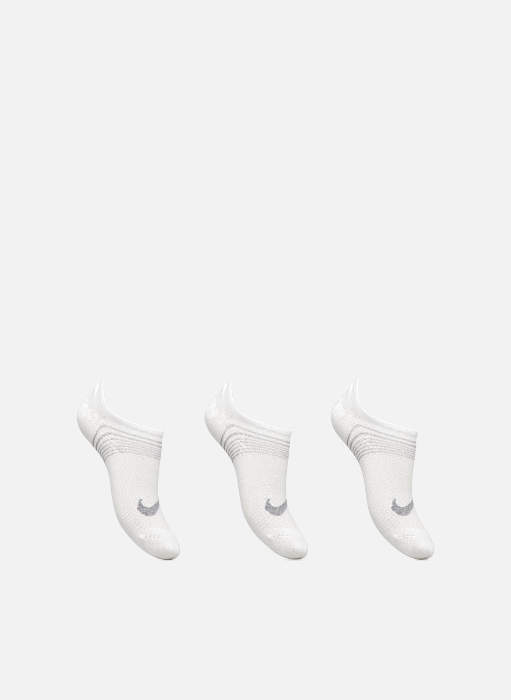 Women's Nike Performance Lightweight Training Footie 3PR WHITE/WOLF GREY