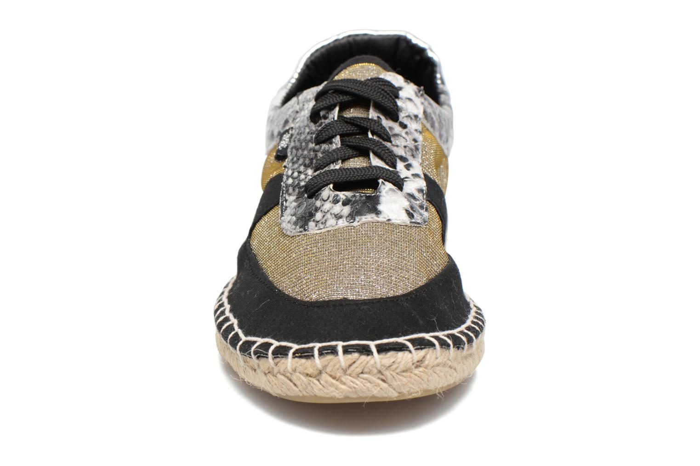 Espadrilles MTNG Laura 69235 Gris vue portées chaussures