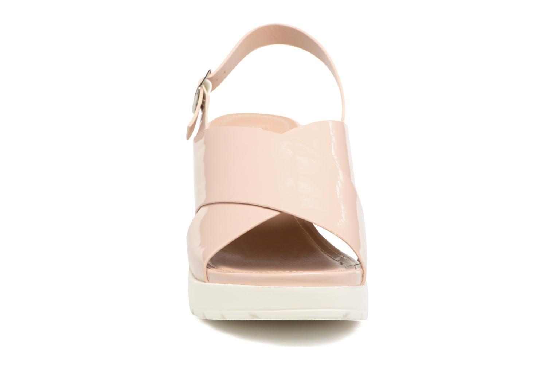 Sandales et nu-pieds MTNG Plexy 55413 Beige vue portées chaussures