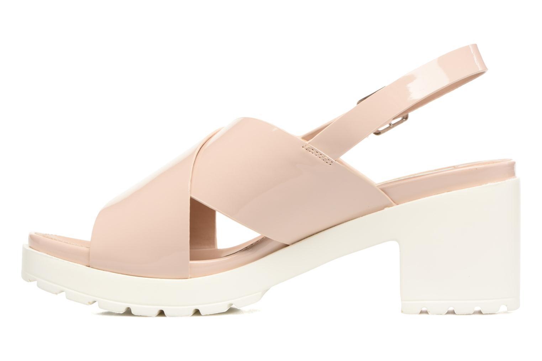 Sandales et nu-pieds MTNG Plexy 55413 Beige vue face