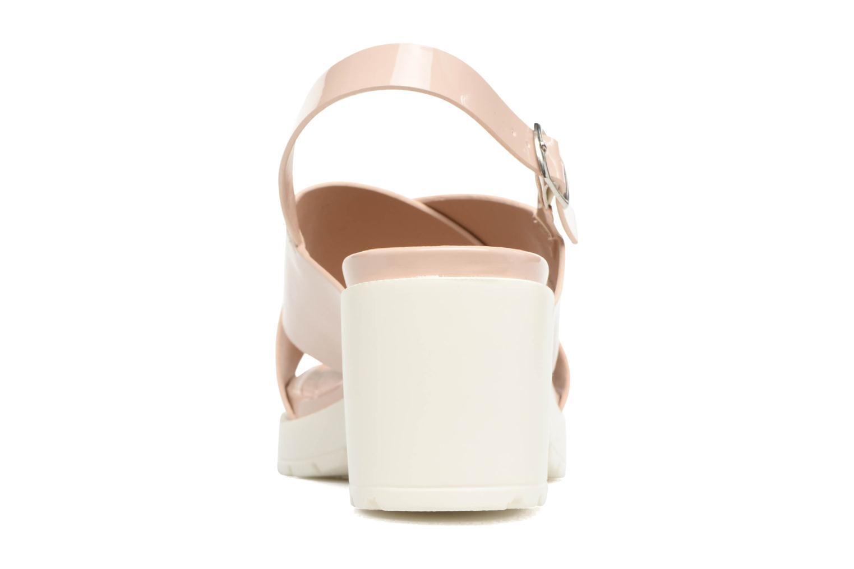 Sandales et nu-pieds MTNG Plexy 55413 Beige vue droite