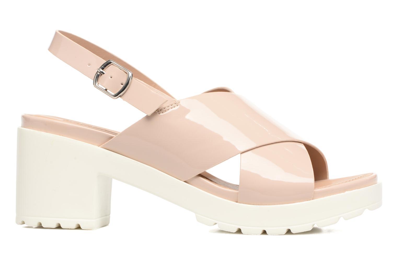Sandales et nu-pieds MTNG Plexy 55413 Beige vue derrière