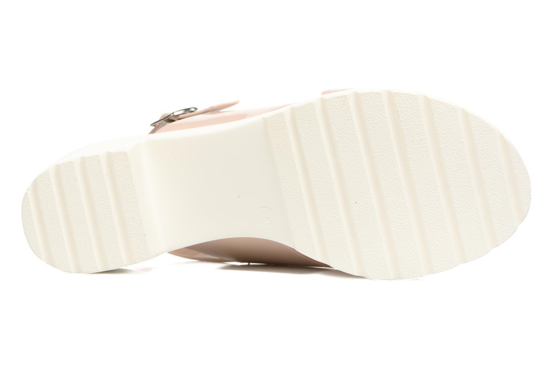 Sandales et nu-pieds MTNG Plexy 55413 Beige vue haut