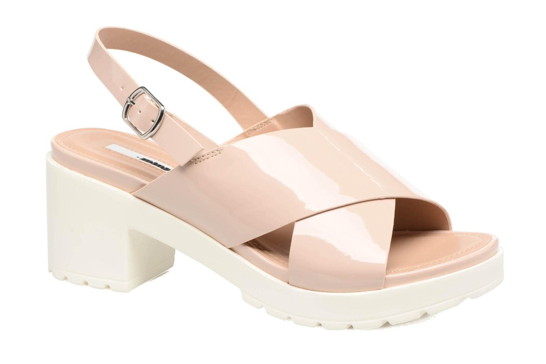 Sandales et nu-pieds MTNG Plexy 55413 Beige vue détail/paire