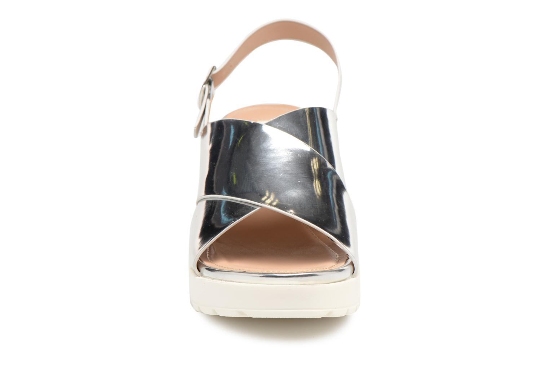Sandales et nu-pieds MTNG Plexy 55413 Argent vue portées chaussures