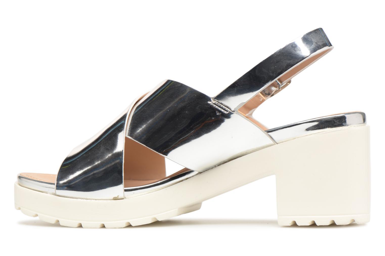 Sandales et nu-pieds MTNG Plexy 55413 Argent vue face