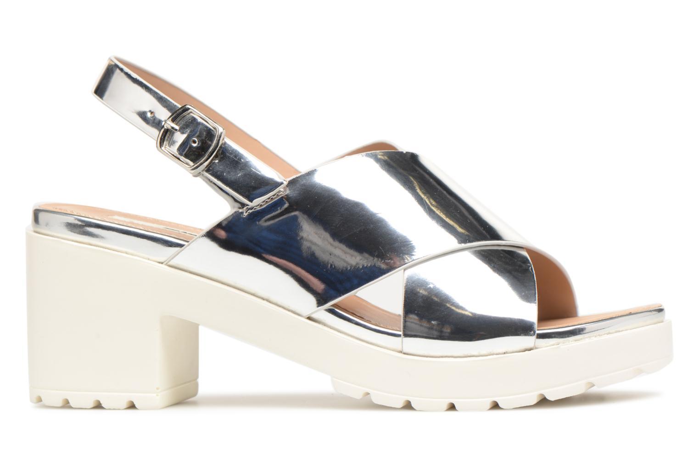 Sandales et nu-pieds MTNG Plexy 55413 Argent vue derrière