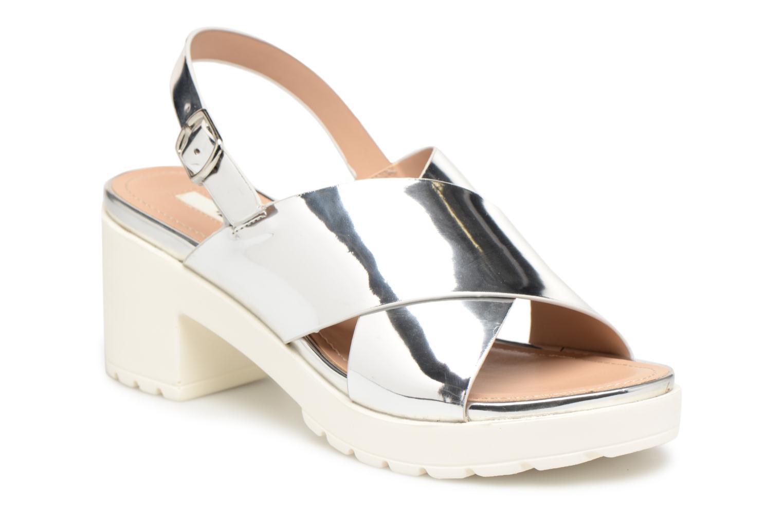 Sandales et nu-pieds MTNG Plexy 55413 Argent vue détail/paire