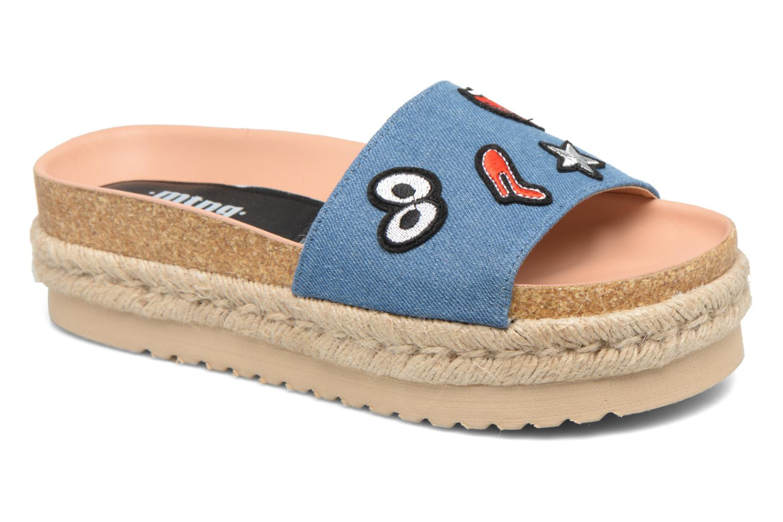Grandes descuentos últimos zapatos MTNG Dakota 50823 (Azul) - Zuecos Descuento