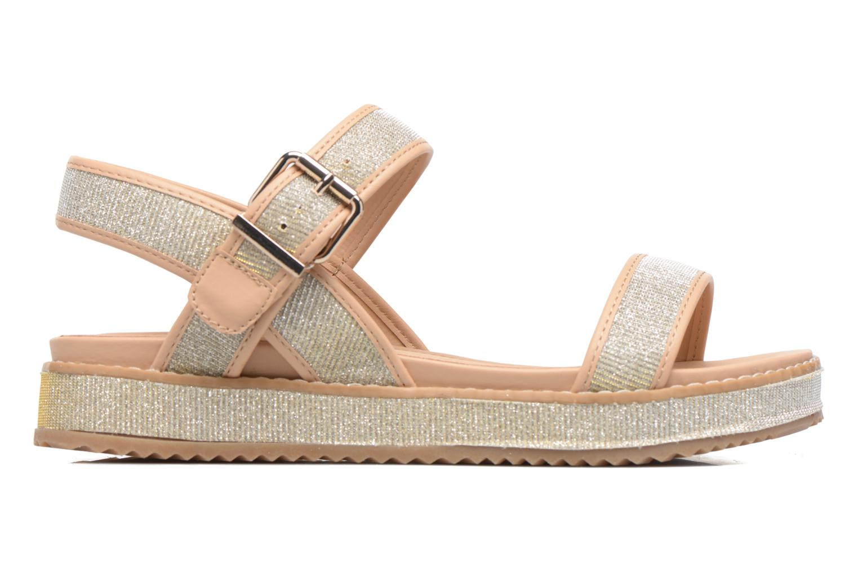 Sandales et nu-pieds MTNG Marguerita 50801 Or et bronze vue derrière
