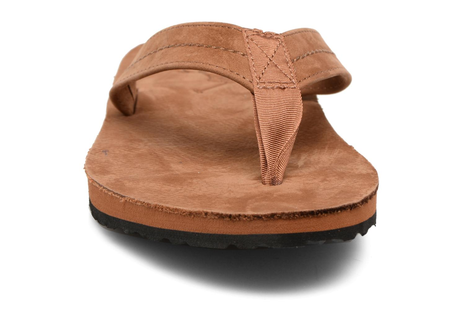 Flip flops Polo Ralph Lauren Edgemont Brown model view