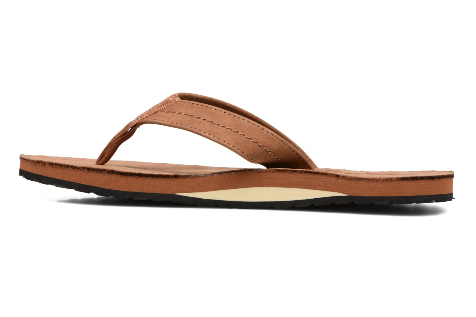 Flip flops Polo Ralph Lauren Edgemont Brown front view