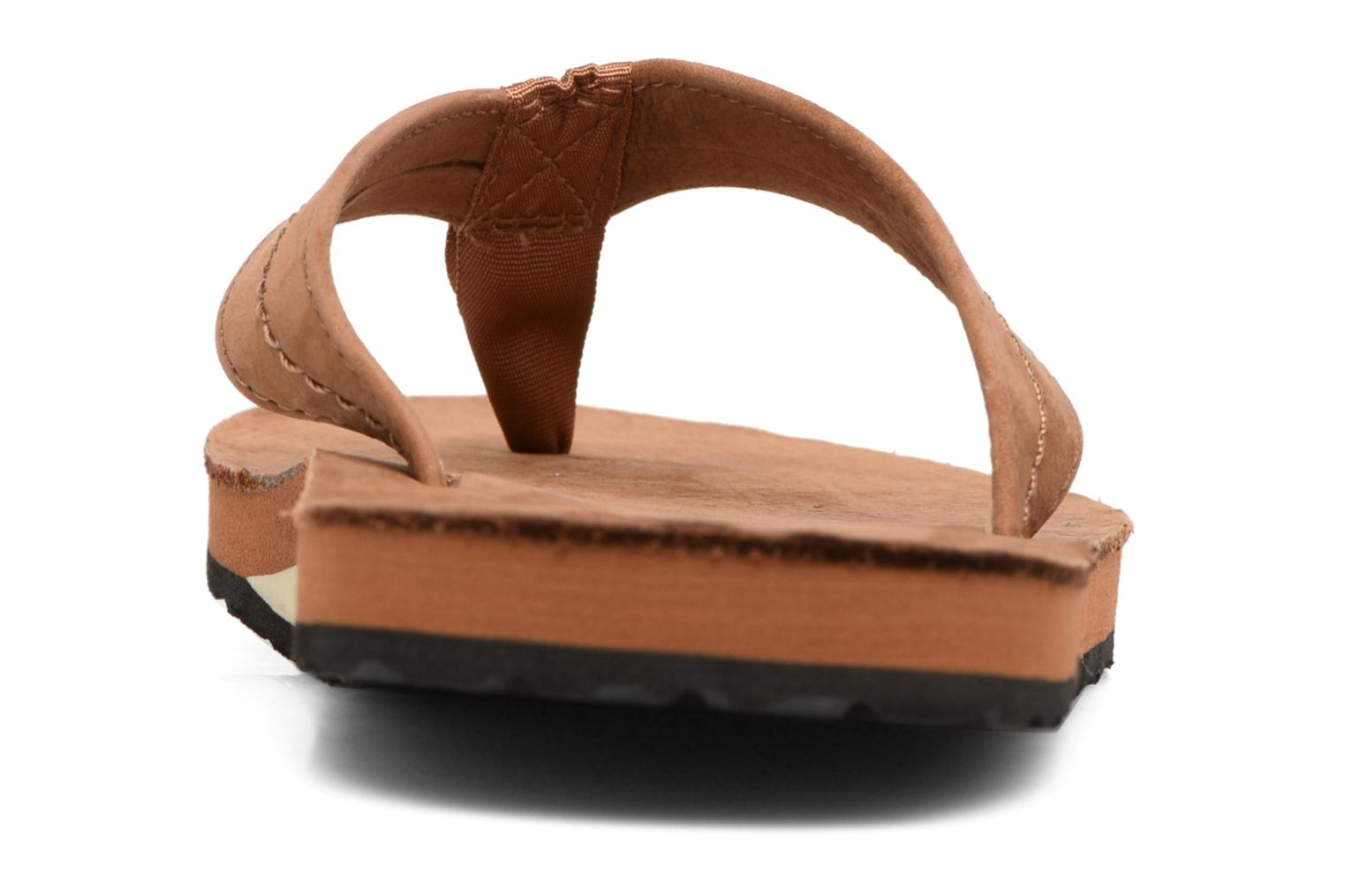 Flip flops Polo Ralph Lauren Edgemont Brown view from the right