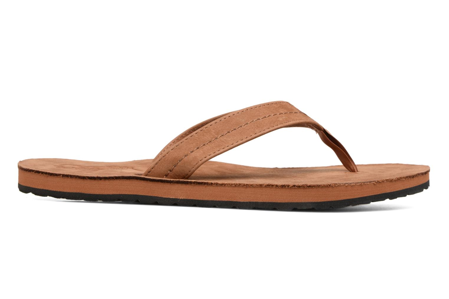 Flip flops Polo Ralph Lauren Edgemont Brown back view
