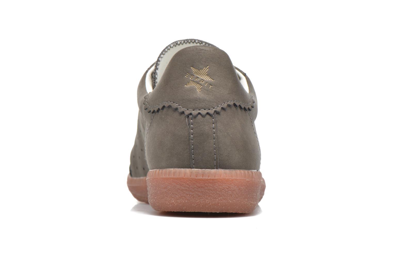 Sneaker Esprit Trainee Lace Up braun ansicht von rechts