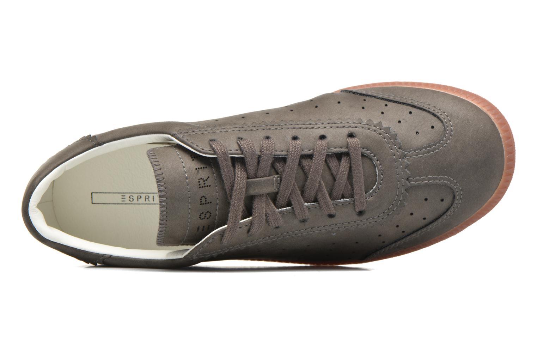 Sneaker Esprit Trainee Lace Up braun ansicht von links