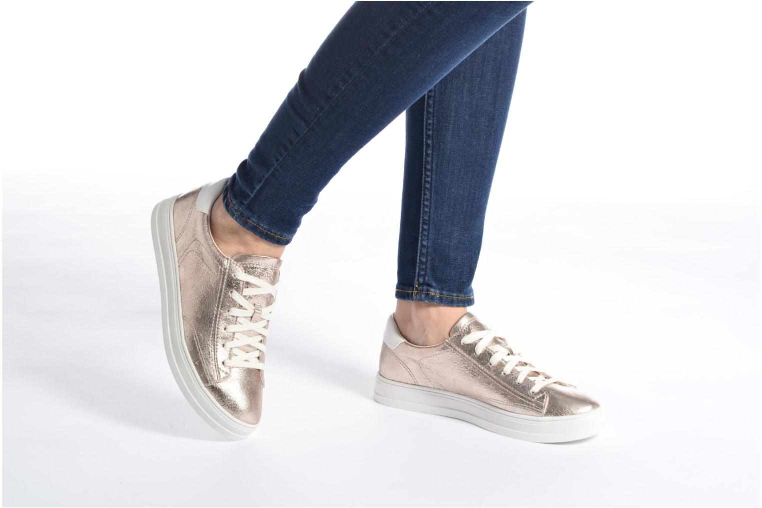 Trainers Esprit Sidney Lace Up Silver view from underneath / model view