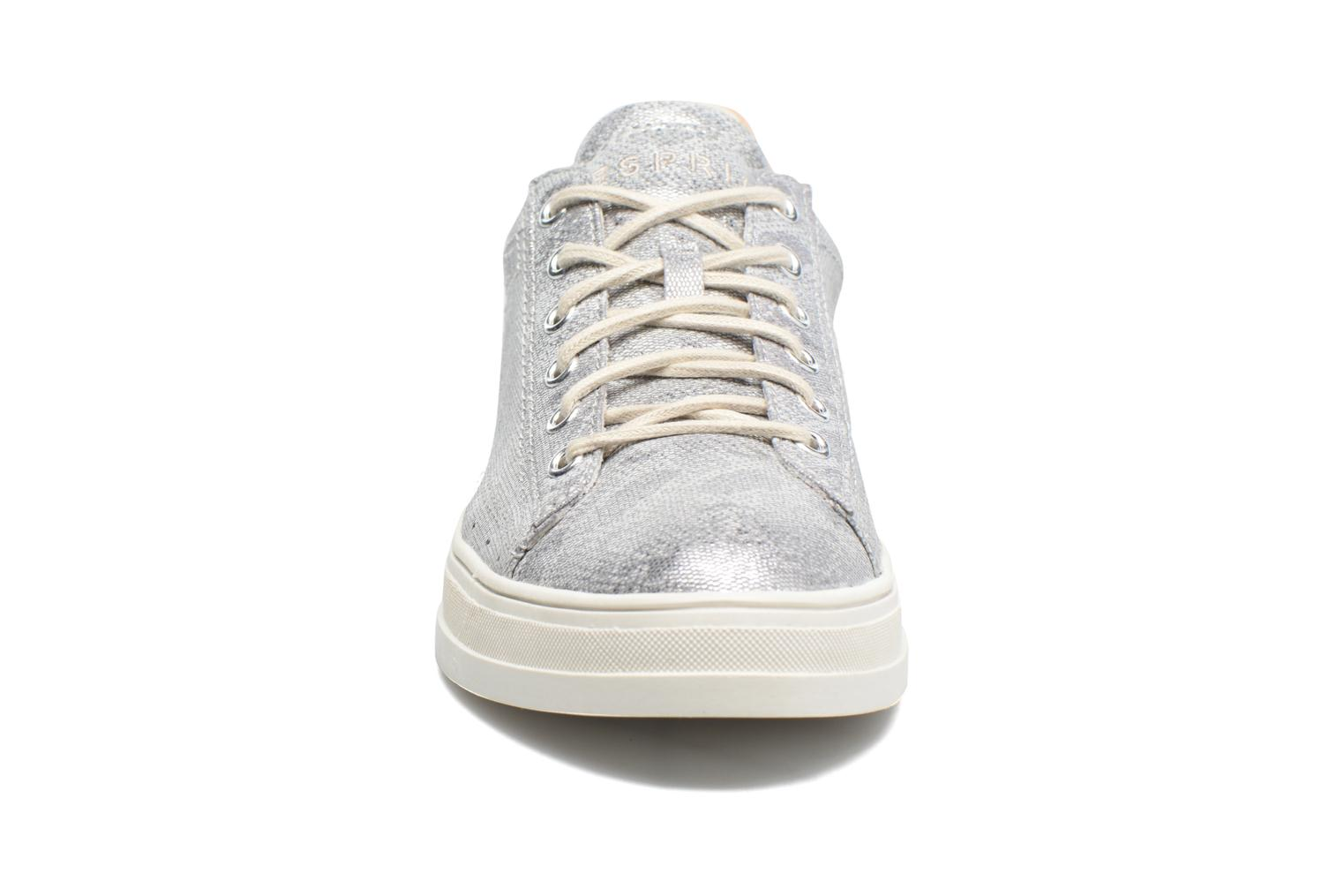 Trainers Esprit Sidney Lace Up Silver model view