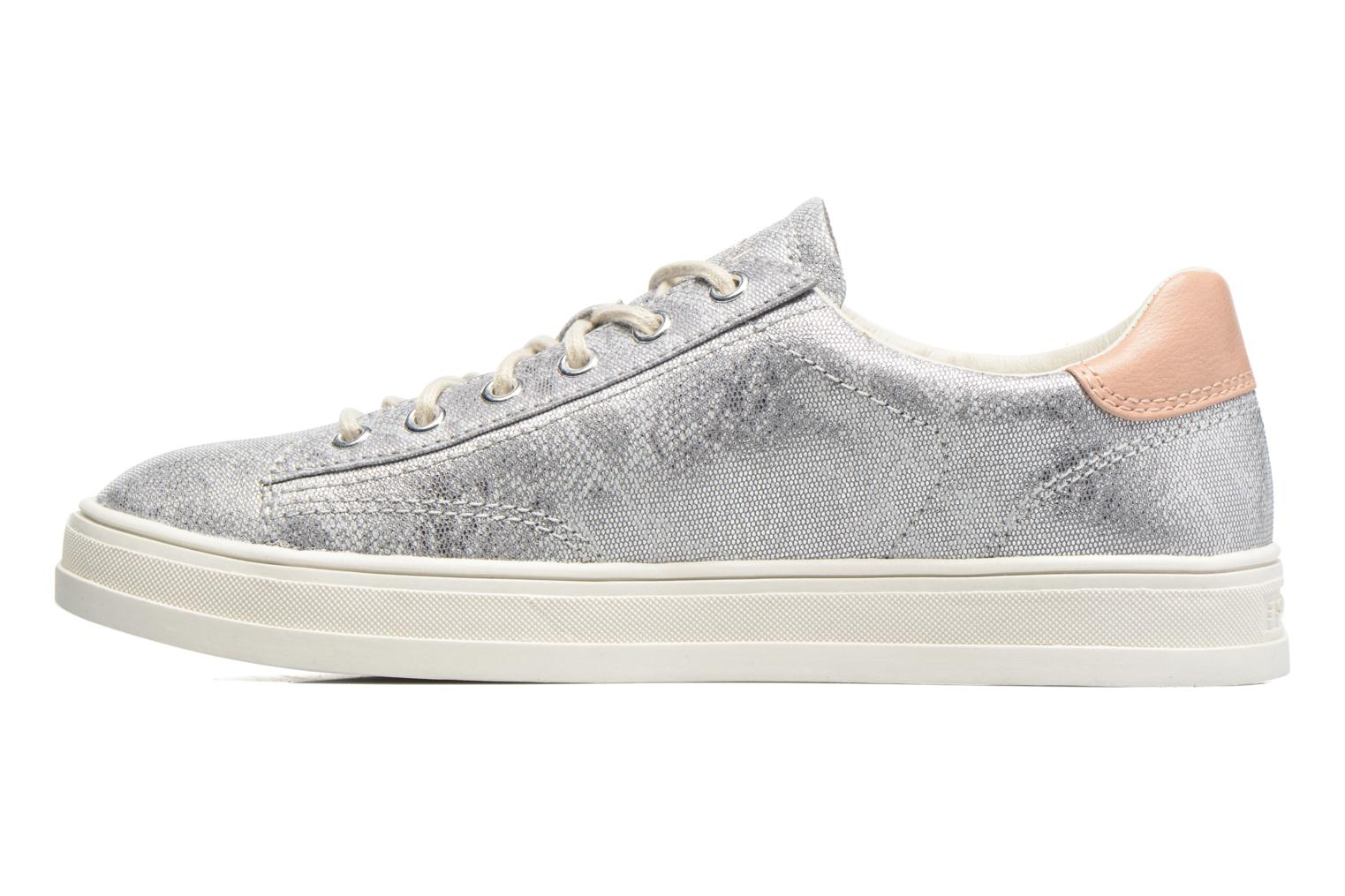 Trainers Esprit Sidney Lace Up Silver front view