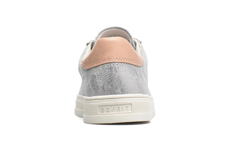 Sneaker Esprit Sidney Lace Up silber ansicht von rechts