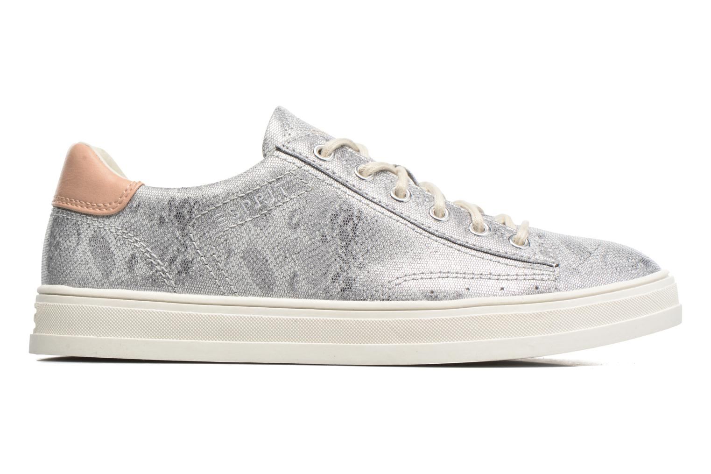 Sneakers Esprit Sidney Lace Up Zilver achterkant