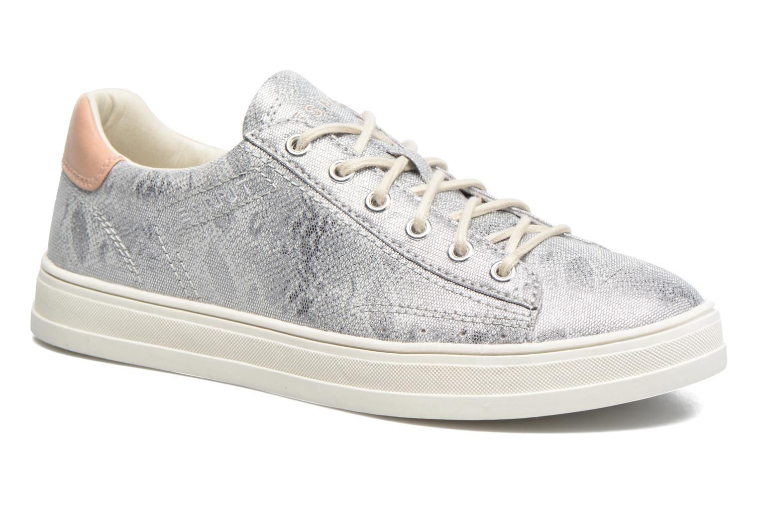 Trainers Esprit Sidney Lace Up Silver detailed view/ Pair view