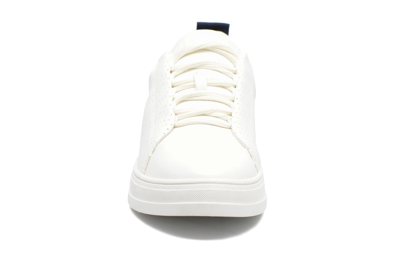 Baskets Esprit Sidney Perf lace up Blanc vue portées chaussures