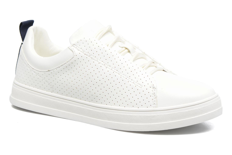 Baskets Esprit Sidney Perf lace up Blanc vue détail/paire