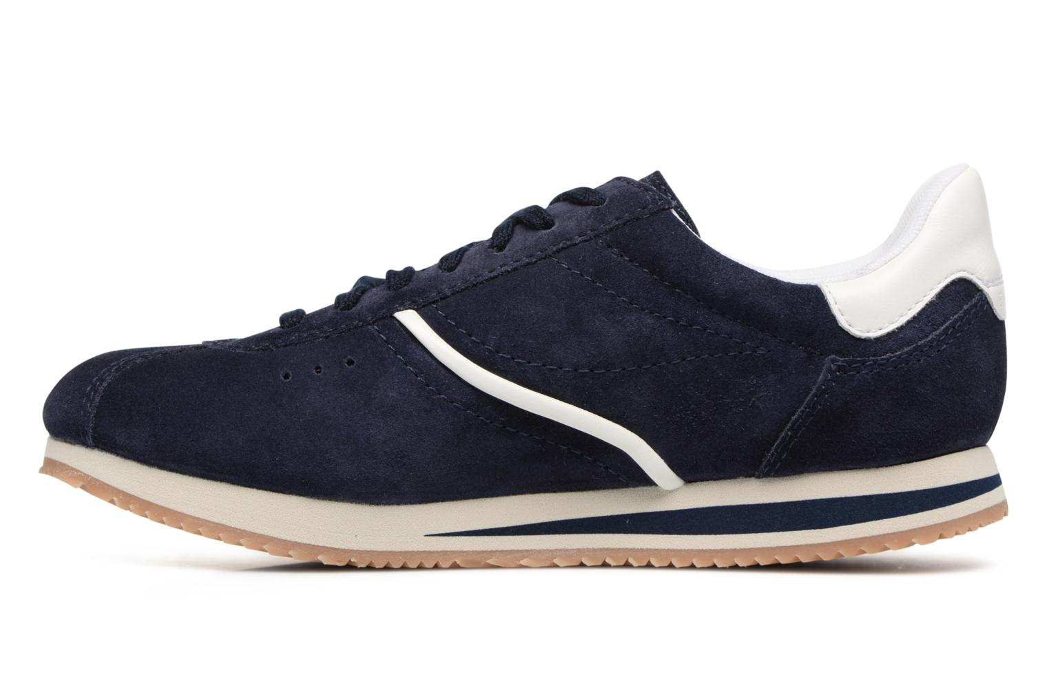 Baskets Esprit Amu Lace Up Bleu vue face