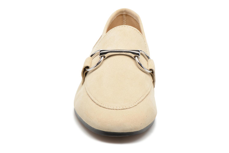 Slipper Esprit Mia Loafer beige schuhe getragen