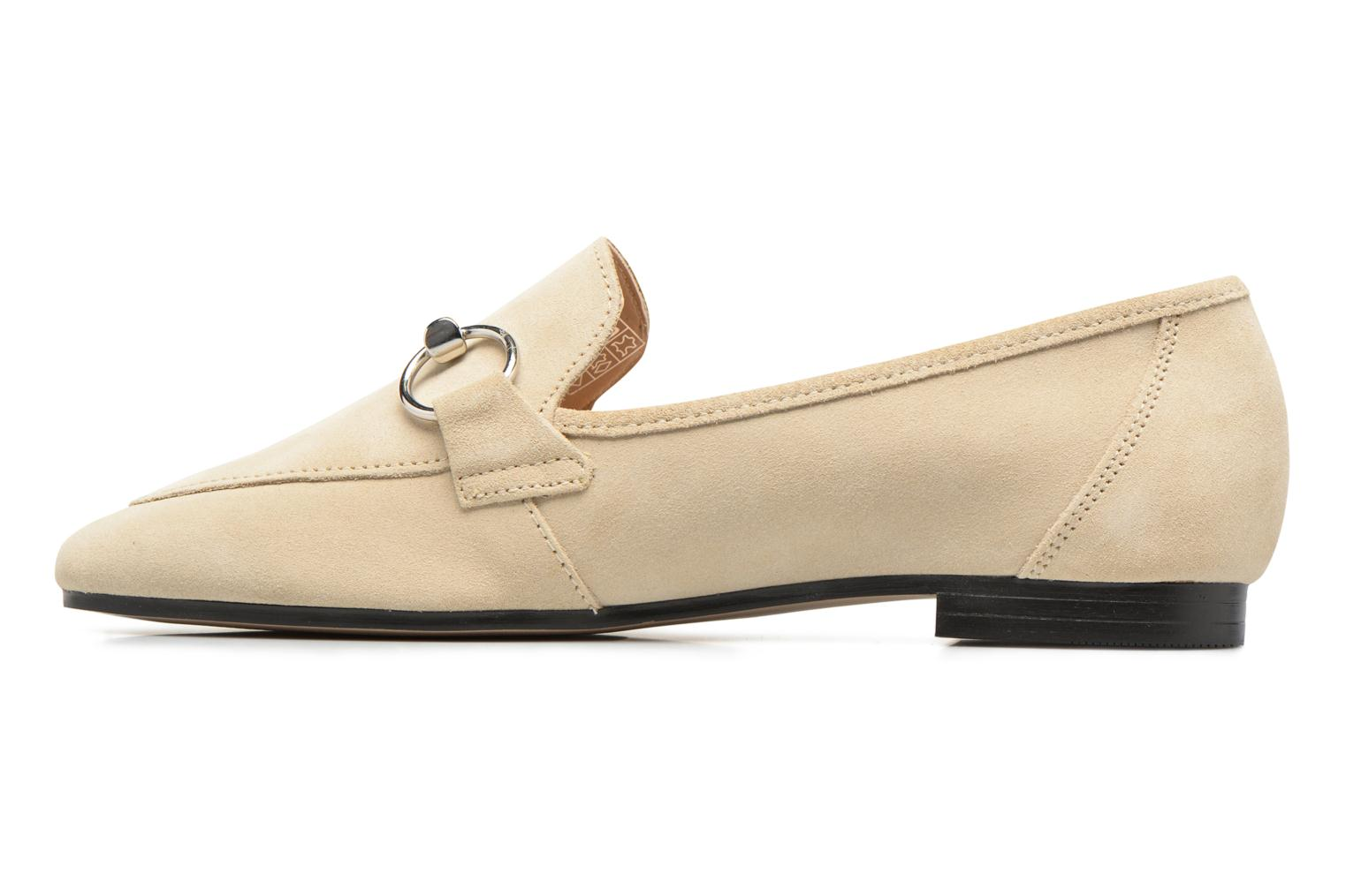 Mocasines Esprit Mia Loafer Beige vista de frente