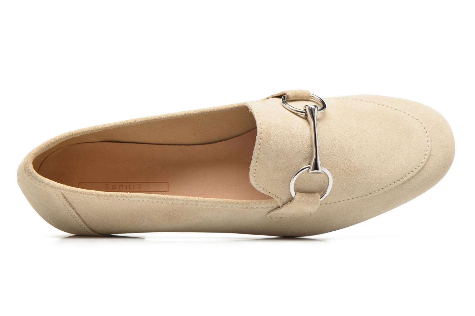 Loafers Esprit Mia Loafer Beige view from the left