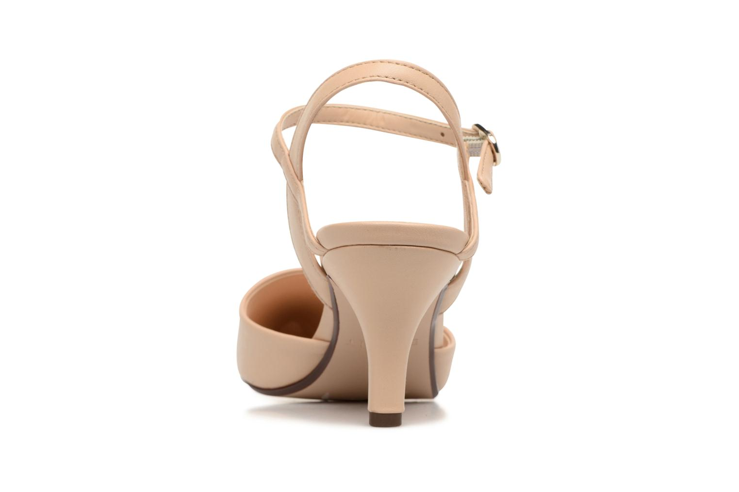 High heels Esprit Pyra Sandal Beige view from the right