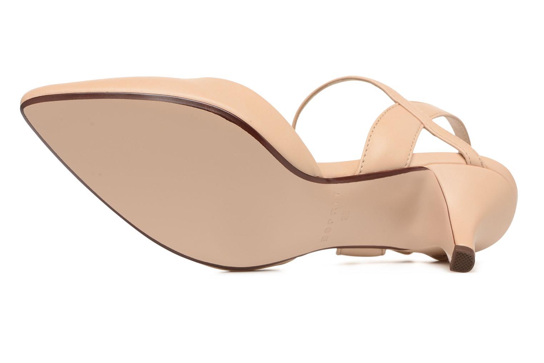 Zapatos de tacón Esprit Pyra Sandal Beige vista de arriba