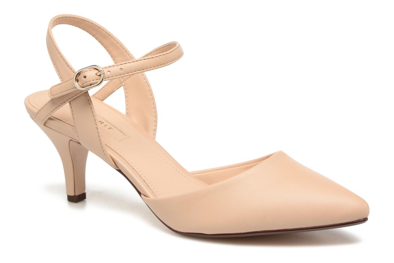 Zapatos de tacón Esprit Pyra Sandal Beige vista de detalle / par