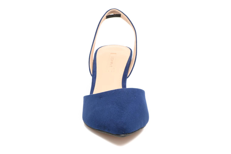 Escarpins Esprit Pyra slig Bleu vue portées chaussures