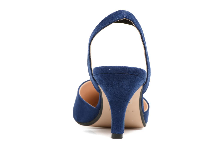 Escarpins Esprit Pyra slig Bleu vue droite