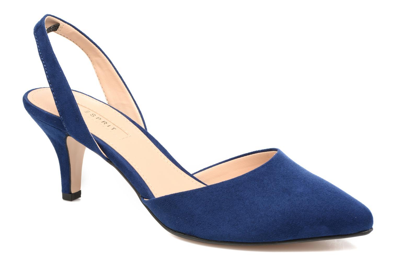 Escarpins Esprit Pyra slig Bleu vue détail/paire
