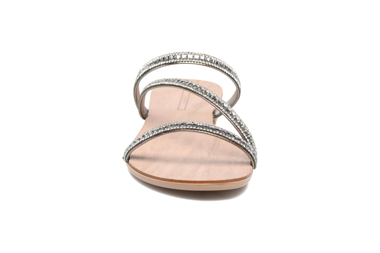 Sandales et nu-pieds Esprit Nil sandal Argent vue portées chaussures