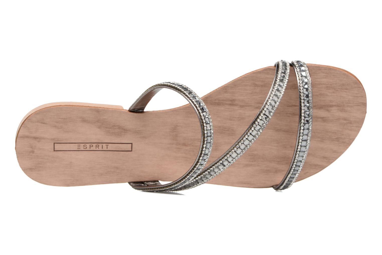 Sandales et nu-pieds Esprit Nil sandal Argent vue gauche