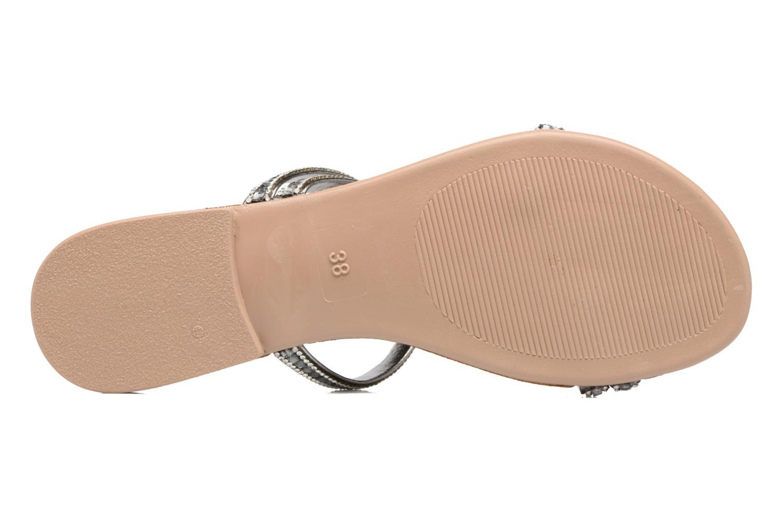 Sandales et nu-pieds Esprit Nil sandal Argent vue haut