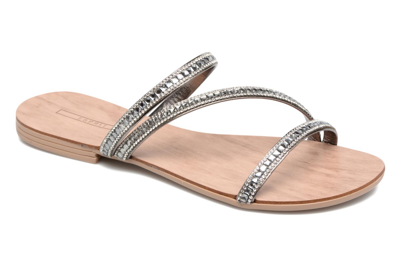 Sandales et nu-pieds Esprit Nil sandal Argent vue détail/paire