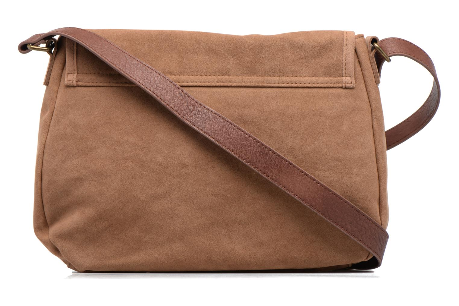 Sacs à main Rip Curl Talamanca suede Shoulder bag Marron vue face