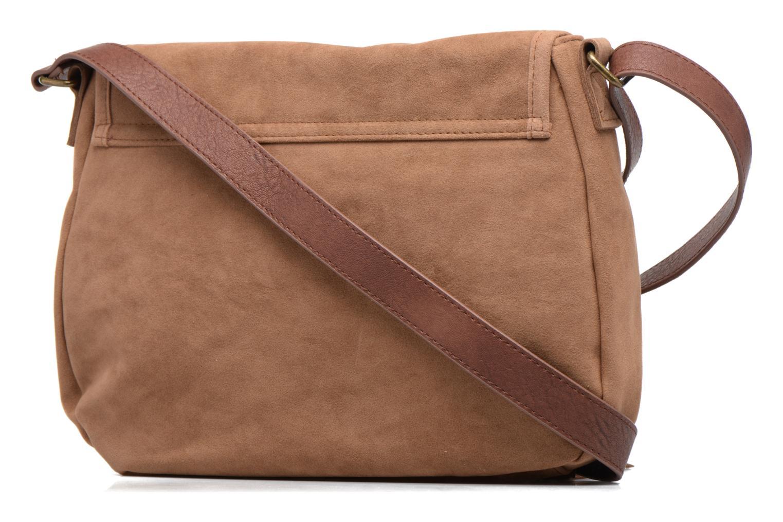 Handtaschen Rip Curl Talamanca suede Shoulder bag braun ansicht von rechts