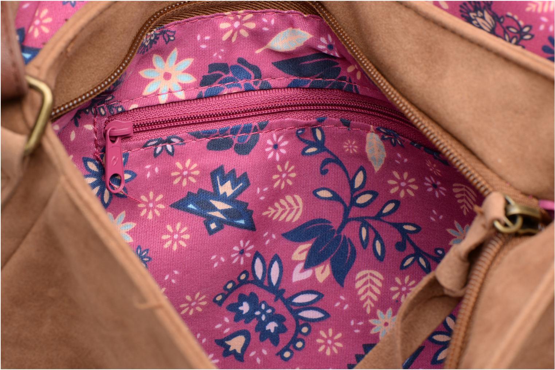 Handtaschen Rip Curl Talamanca suede Shoulder bag braun ansicht von hinten