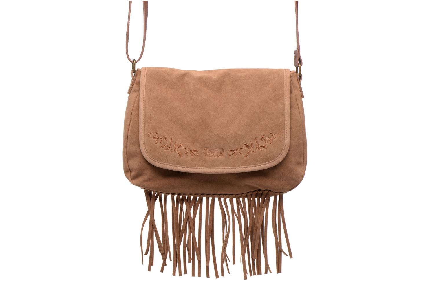 Handbags Rip Curl Talamanca suede Shoulder bag Brown view from the left