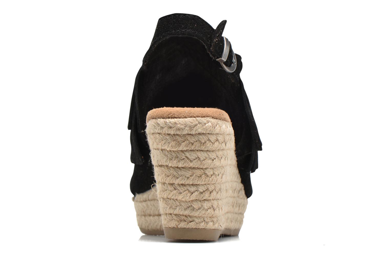 Sandali e scarpe aperte Minnetonka Ashley Nero immagine destra